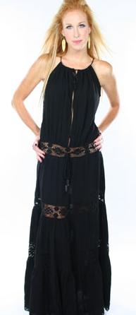 Michella Jonas Long Hippie Dress