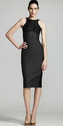 Stella McCartney Ottavia Jacquard Dress Printed Black Grey