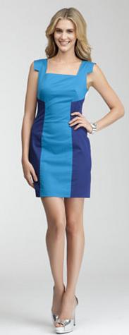 Joy Colorblock Dress Bebe