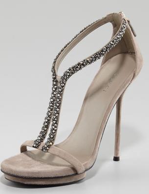Gucci Naomi Crystal Sandal