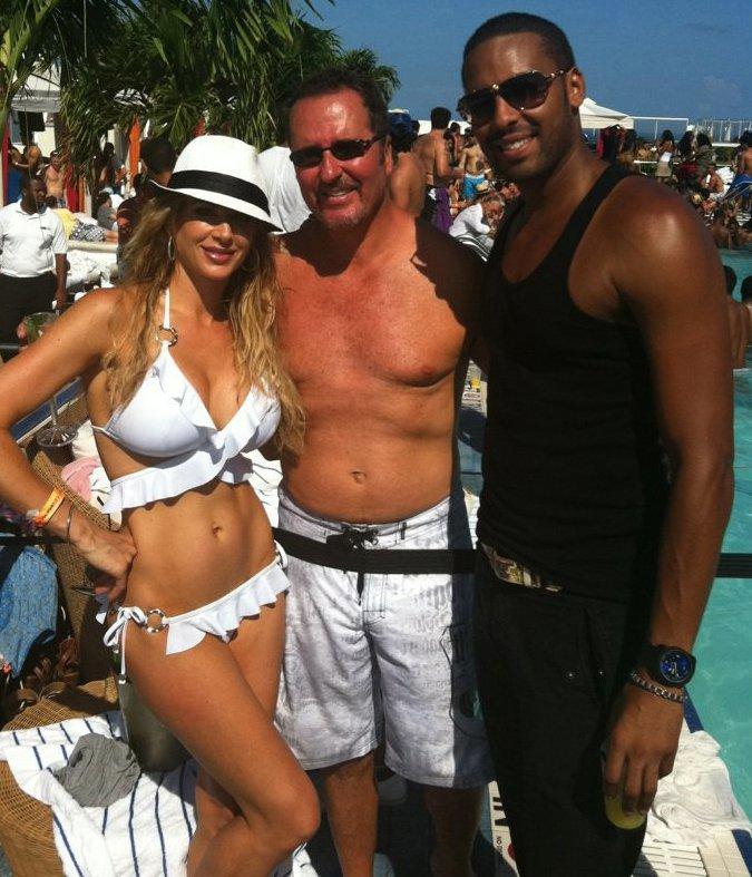 Alexis Bellino Zeugari White Ruffle Halter Bikini