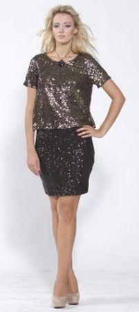 Alythea Sequin Skirt
