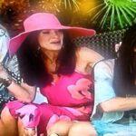 Karina Grimaldi Pink Floral Dress