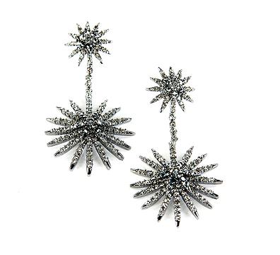 Shay Accessories Starburst Earrings