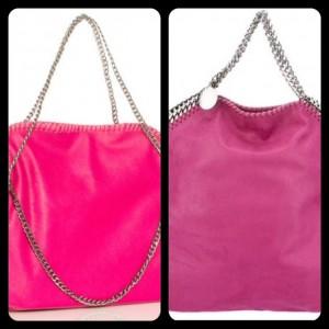 Pink Chain Trim Bag Purse