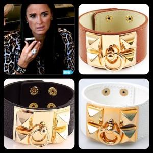 Kyle Richards Hermes Cuff Bracelet
