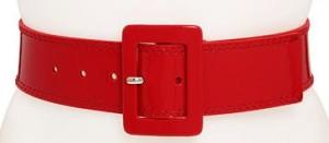 Red Calvin Klein Belt