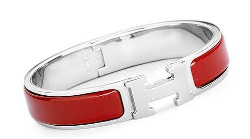 Red H Bracelet