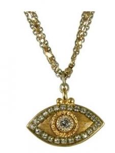 Melissa Gorga Evil Eye Necklace