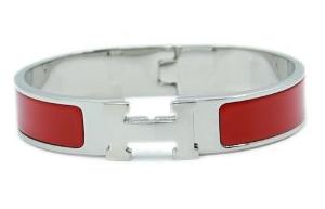 White Gold H Bracelet