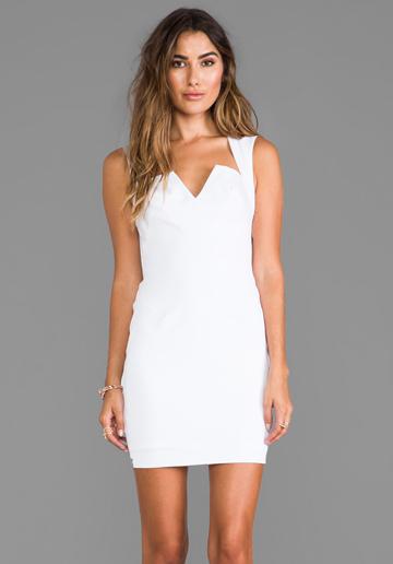White Interview Dress Weddings Dresses