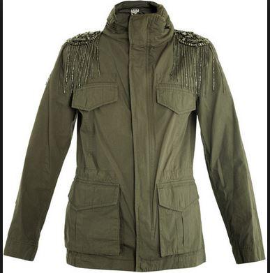 Haute Hippie Military Anorak Jacket