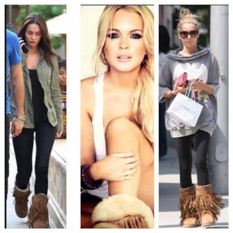 Koolaburra Boots on Celebrities
