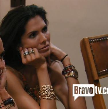 Rachel Zoe Crystal Luxe Leaf Bracelet