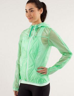 Lululemon Transparent See Jacket