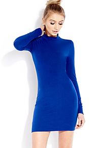 Forever 21 Blue Bombshell Bodycon Dress