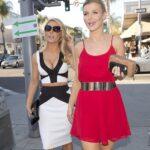 Bebe Seam Body Midi Skirt and Crop Top