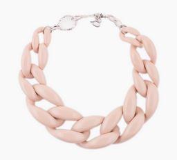 Nude Chain Link Necklace Kristen Taekman