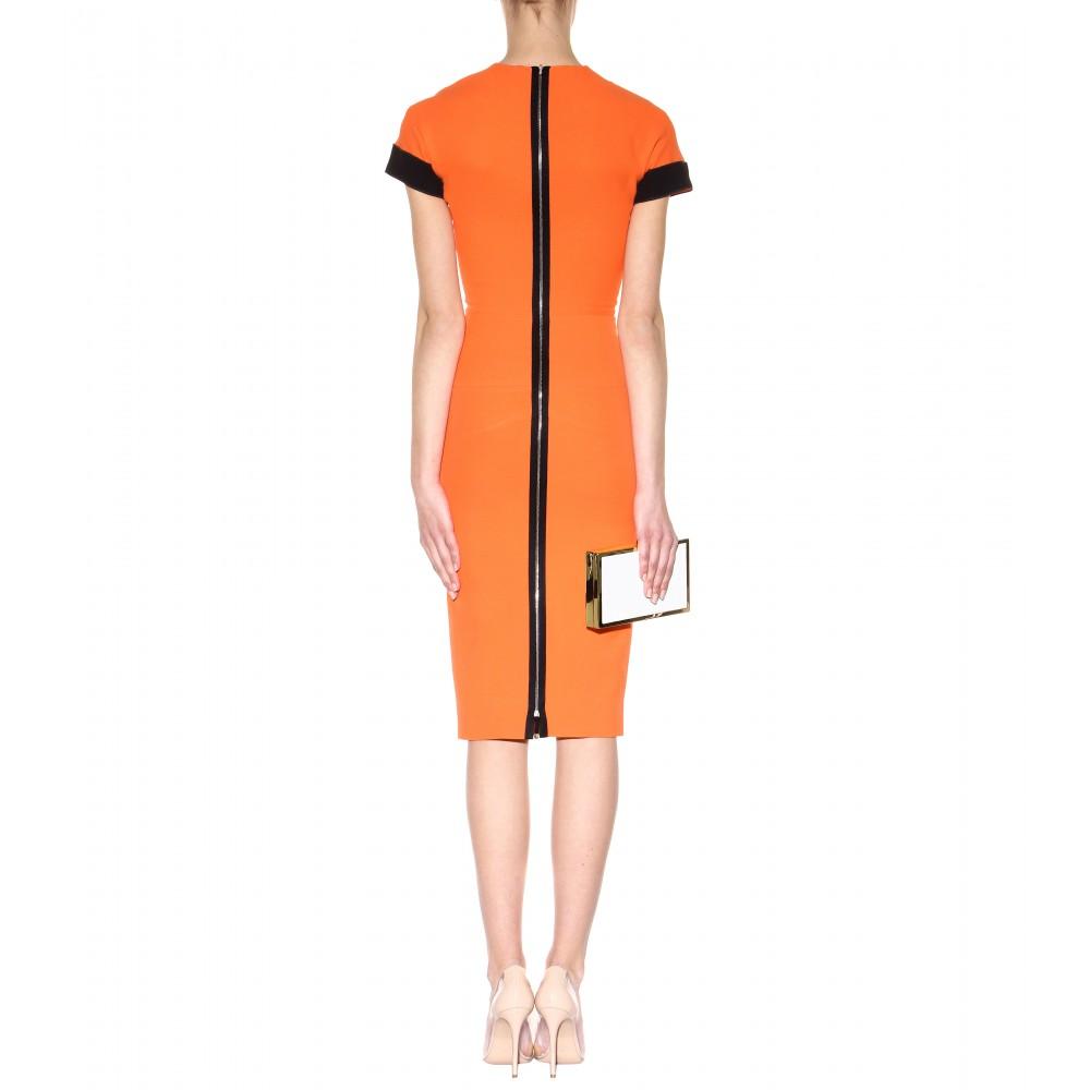 Yolanda Foster\'s Orange & Black Season 4 Reunion Dress | Big Blonde Hair