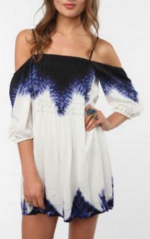 Ecote Off The Shoulder Dress
