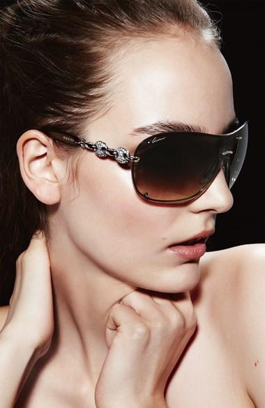 Pave link sunglasses