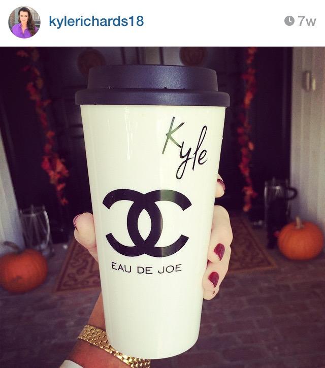 Chanel Inspired Travel Coffee Mugs