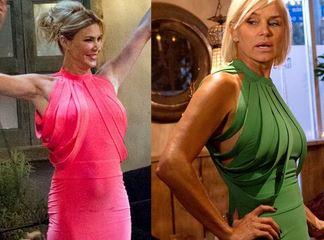 Brandi Glanville and Yolanda Foster Matching Dress