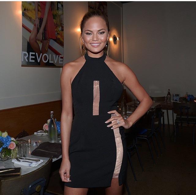 Revolve Clothing NBD Mock Collar Illusion Dress