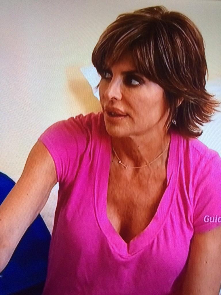 Lisa Rinna Pink T Shirt