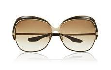 Dita Marseilles Metal Aviator Sunglasses