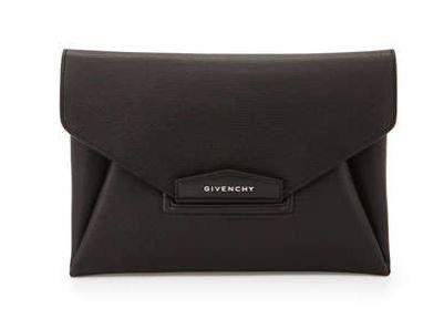 Givenchy Black Antigona Clutch