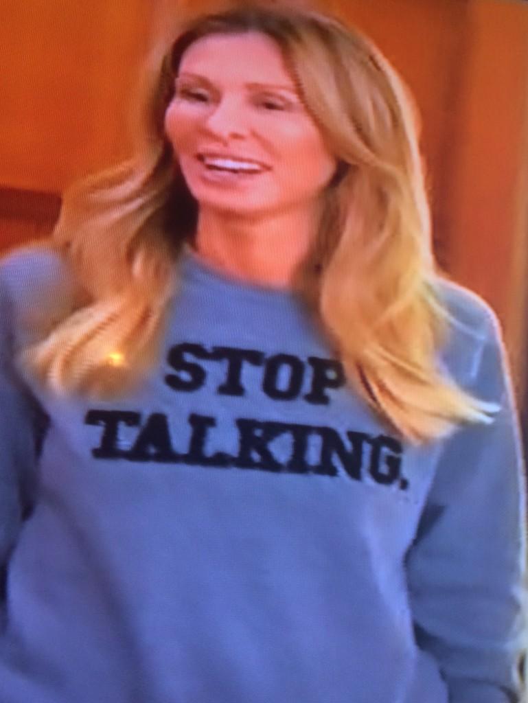 Stop Talking Sweatshirt