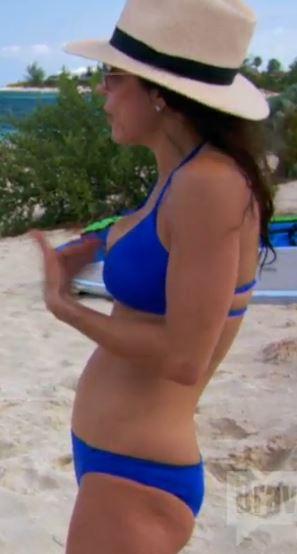Bethenny frankel blue bikini Bikini