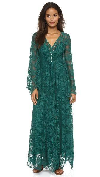 free people sensual lace maxi dress