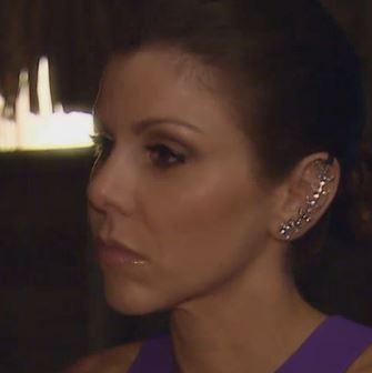 Heather Dubrow's Crystal Ear Ciff