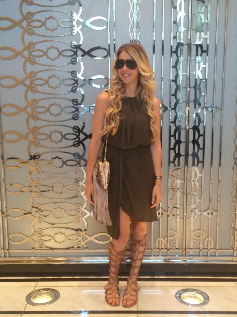 Fashion Blogger Big Blonde Hair