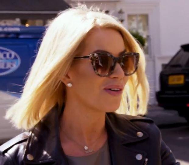 Caroline Stanbury Tortise Sunglasses