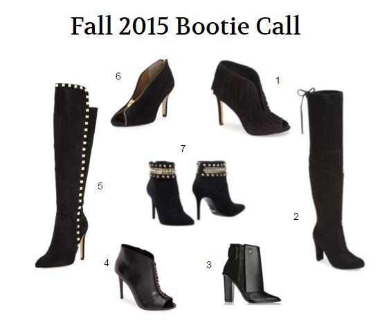 Fall 2015 Fall Boots