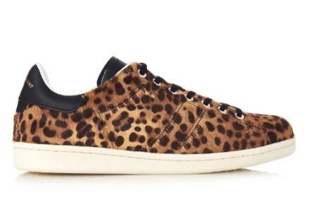 Isabel Marant Calf Hair Sneakers