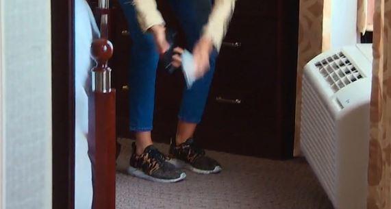 Lisa Rinna Leopard Sneakers