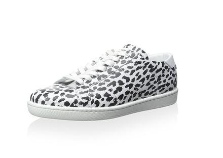 Saint Laurent Snow Leopard Sneakers