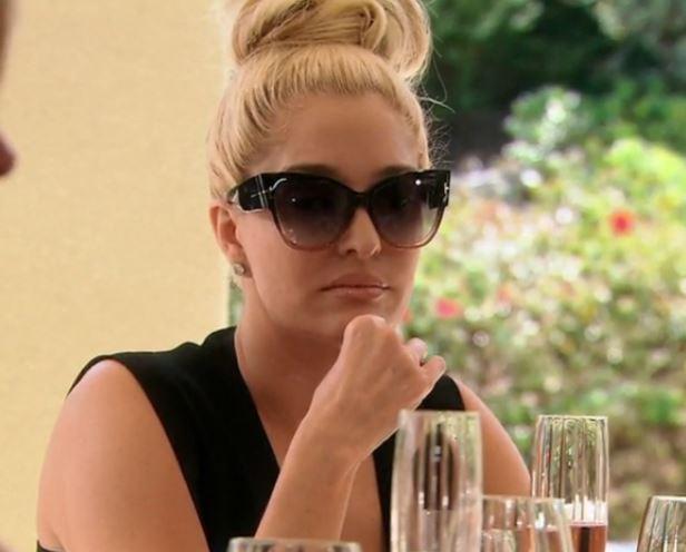 Erika Girardi's Cat Eye Sunglasses