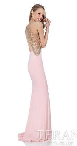 Melissa Gorga pink terani couture