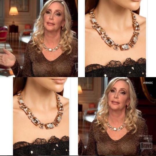 shannon-beadors-oscar-de-la-renta-yellow-jeweled-necklace