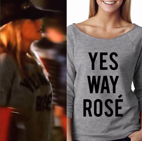 Yes Way Rose Sweatshirtq