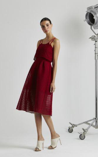 melissa gorga red dress