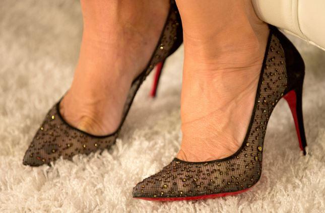 Vicki Gunvalson's Real Housewives of Orange County Season 11 Reunion Shoes