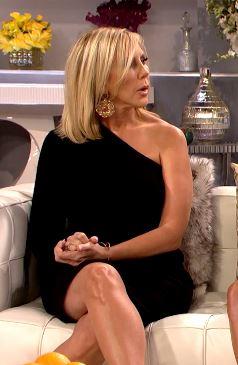 Vicki Gunvalson's Real Housewives of Orange County Season 11 Reunion Dress & Earrings