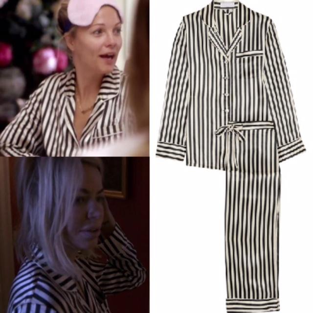 Caroline Stanbury & Caroline Flemmings' Black & White Striped Pajamas