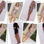 Melissa Gorga gold mini dress